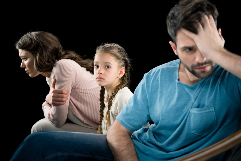 Llevar a los niños al psicólogo tras un divorcio
